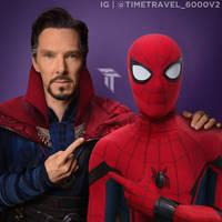 Spider Man And Doctor Strange by Timetravel6000v2