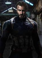 Captain America Avengers Infinity War by Timetravel6000v2