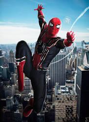 Avengers Infinity War Iron Spider by Timetravel6000v2