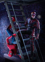 Spidey and Daredevil by Timetravel6000v2