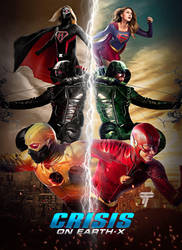 Crisis on Earth X Poster by Timetravel6000v2