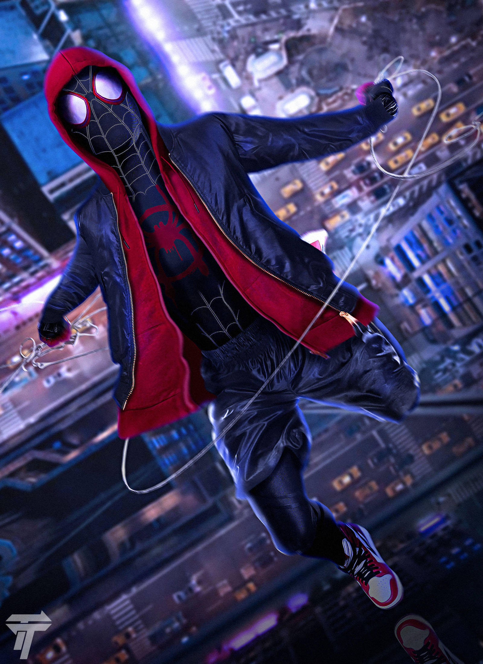 Spider-man: Into the Spider-Verse by Timetravel6000v2 on ...