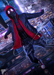 Spider-man: Into the Spider-Verse by Timetravel6000v2