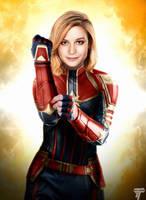 Captain Marvel by Timetravel6000v2