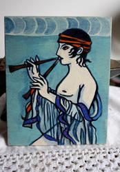 Minoan Boy by tdiaz