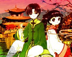 Eriol Tomoyo: Reunion in China by aliehs-yllis