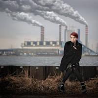 toxic city 02 by Art-de-Viant
