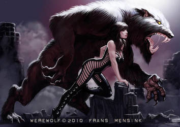 Werewolf by FransMensinkArtist