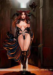 Vampiregirl by FransMensinkArtist
