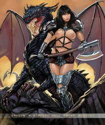 Dragon Mistress by FransMensinkArtist
