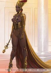 Golden Queen by FransMensinkArtist