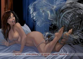 Ghostly Harassment by FransMensinkArtist