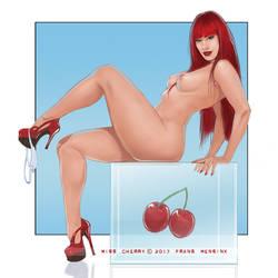 Miss Cherry by FransMensinkArtist