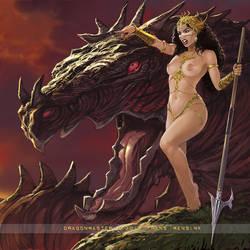 Dragonmaster by FransMensinkArtist