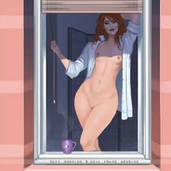 Sexy Morning! by FransMensinkArtist