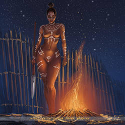 campfire S by FransMensinkArtist