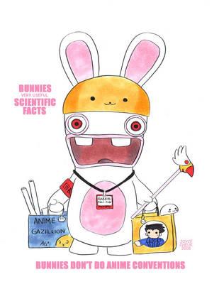 Bunnies Dun Do Anime Cons by ayabrea