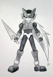 Rockman Zero Commission by ayabrea