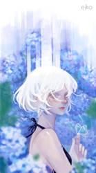 Hydrangea by Eikomint