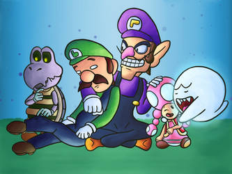 5 Cool Mario Characters by SirMadameTheKnight
