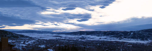 Steamboat Springs Panorama 2 by gon4u