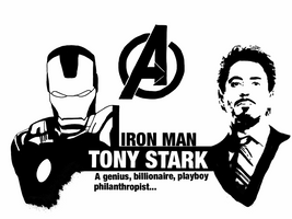 Avengers - Tony Stark by Mr-Saxon