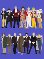 All The Doctors by Mr-Saxon