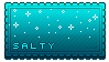 Word Stamp - Salty by likely-uncomfortble