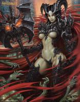 Death Knight by KhezuG