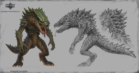 lizardman by KhezuG