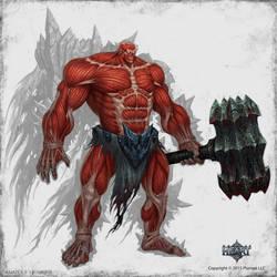 Iron golem naked by KhezuG