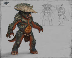 dino humanoid by KhezuG