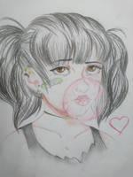 Kim Mina - PorkchopNFlatscreen by MrsVeryArty