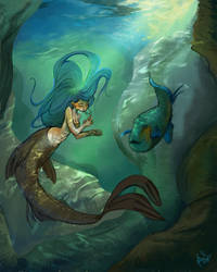 The Little Mermaid by jbsdesigns