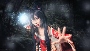 Ahri [League of Legends] by QTxPie