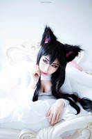 Ahri (Keyhole Sweater) by QTxPie