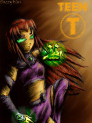 TT: Save The Titans - Starfire by sazzykins
