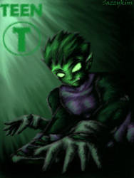 TT: Save The Titans - BeastBoy by sazzykins