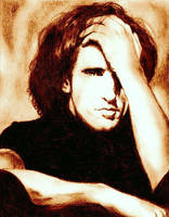 Trent Reznor Portrait by ariesleovirgo