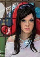 Robot Girl by benchi