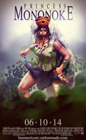 Princess Mononoke by benchi