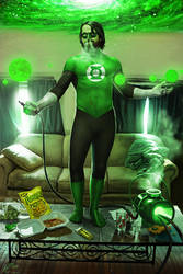 Green lantern by benchi