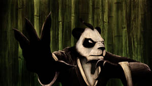 Martial Art Panda by kimded
