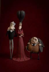 Handmade figures (Corpse Bride) by Vint1k