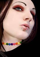 Emo Girl Vector by umayrr