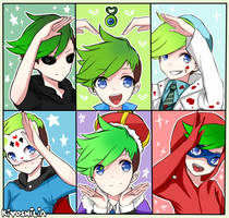 Jacksepticeye Heart by LightAppend