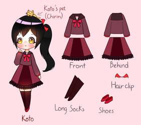 Koto's ref by MKirina