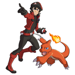 vld pkmn trainers - ranger keith by corteae