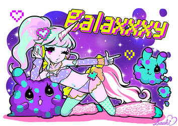 galaxxxy Character Mascot Contest by saaki-pyrop