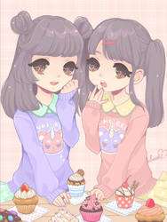 cupcakes by saaki-pyrop